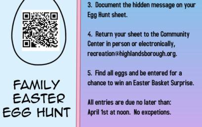 Easter Egg Hunt – QR Code style