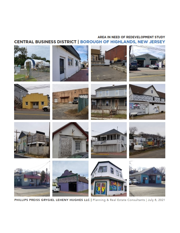 Borough of Highlands Central Business District: Area in Need of Redevelopment Study