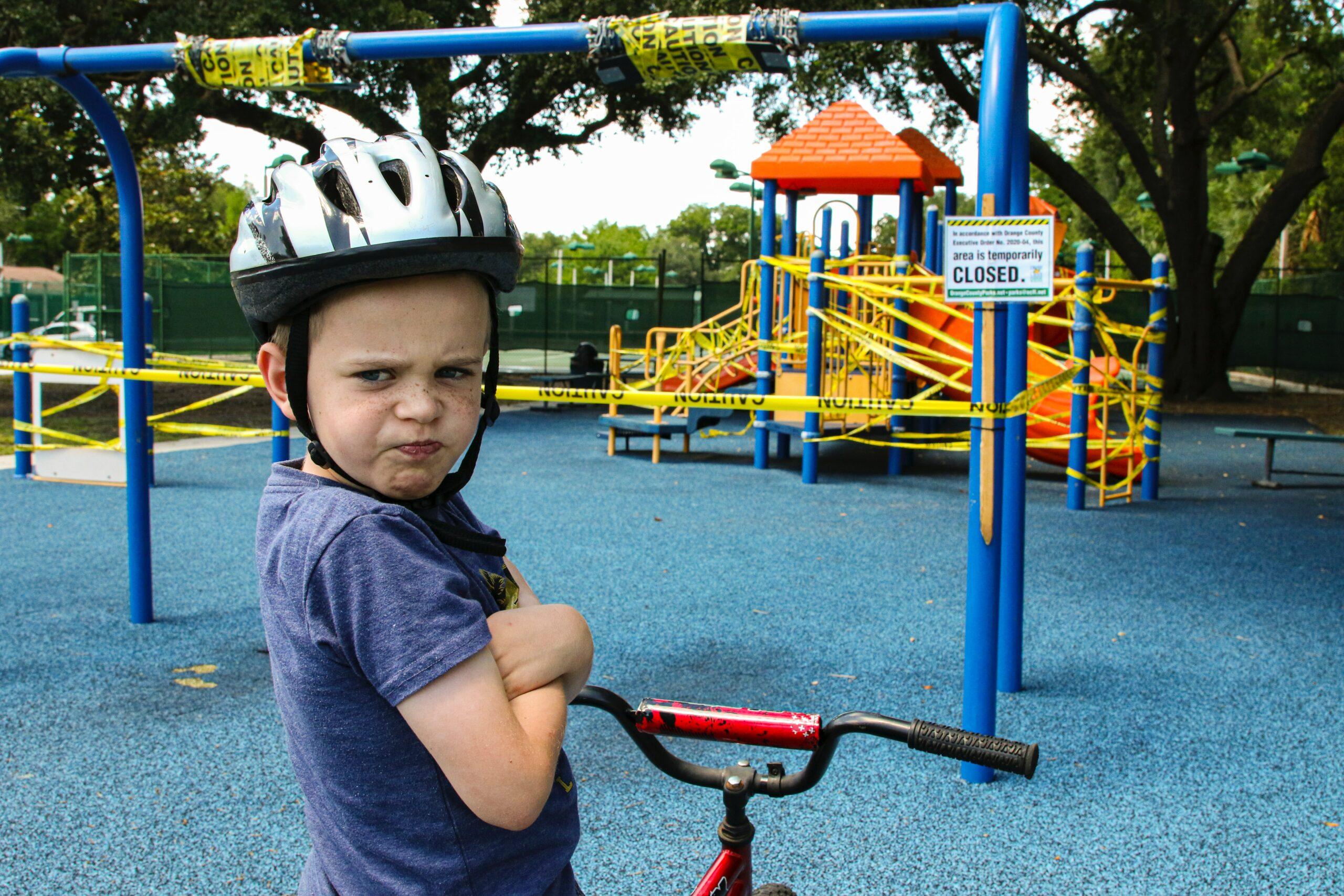 Veterans Park playground closed due to flooring repairs
